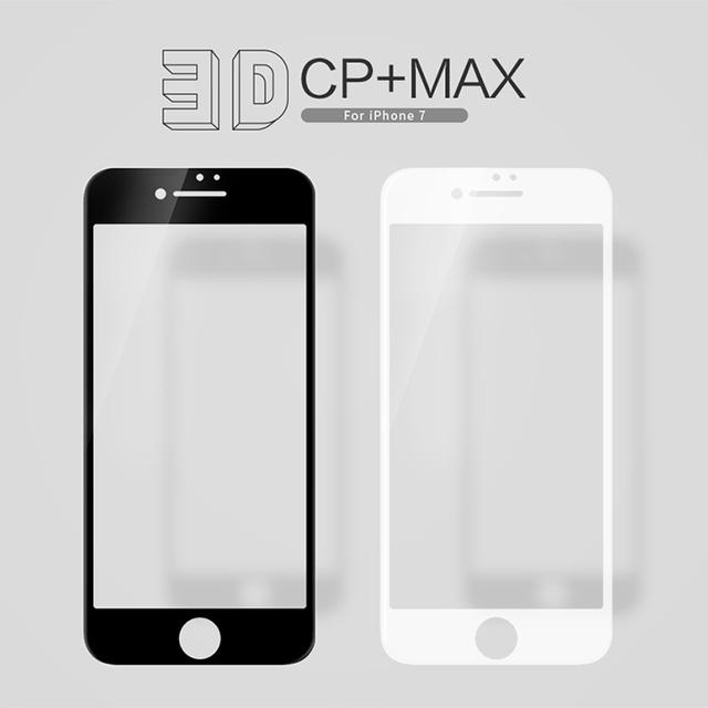 NILLKIN 3D CP + MAX cobertura Completa Anti-explosión de Cristal Templado Protector de Pantalla para iPhone7/iPhone7 plus