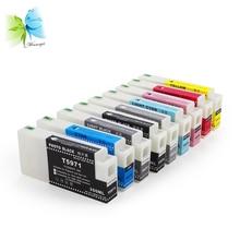 Winnerjet 9 colors full sublimation ink cartridge for Epson Stylus Pro 7890 9890 7908 9908 compatible ink cartridges цена в Москве и Питере