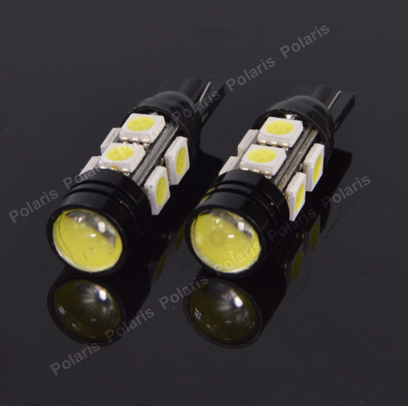 T10 5050 W5W 5 SMD 194 168 LED White Car Side Wedge Tail Light Lamp Set x20