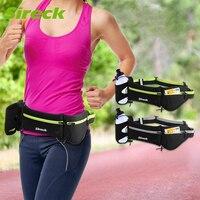 Sireck Running Waist Bag Men Women Sport Bag Trail Jogging Belt Fanny Pack Water Bottle Holder Pouch Gym Fitness Bag Accessories