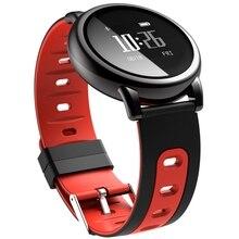 D8 Round Dial font b Smartwatch b font Intelligent Silicone Wristband Sport Fitness Men Women Heart