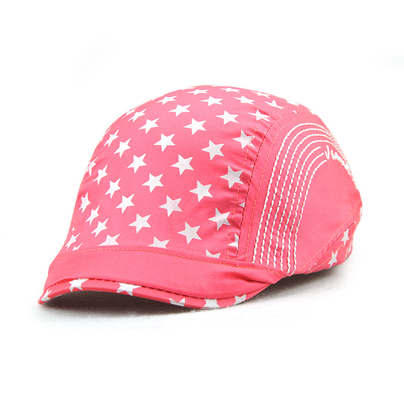 2017 Children's Hat Boy Girl Cap Kids Sun Hat Spring Summer Fashion Adjustable Kids Berets Cap