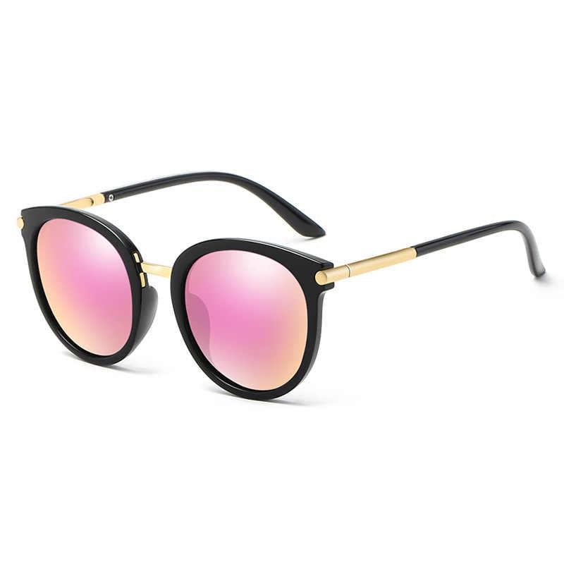 fc297dbb0236 ... 2018 Round Sunglasses Women Brand Designer Sunglases Woman Sun Glasses  Fashion Summer Gafas Feminino Oculos De ...