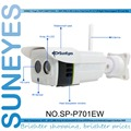 Suneyes sp-p701ew ip inalámbrica cámara al aire libre mini onvif rtsp y soporte infrarrojos de visión nocturna y ranura sd micro