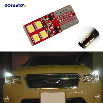 DOTAATDW 1x W164 T10 W5W LED 3030SMD Wedge Light Sidelight No Error For Subaru impreza legacy xv forester Outback Tribeca Fiat image