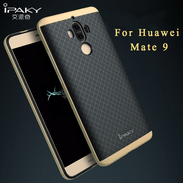 buy huawei mate 9 case ipaky brand huawei mate 9 pro cover luxury silicone. Black Bedroom Furniture Sets. Home Design Ideas