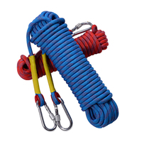 10m Professional Outdoor Rock Climbing Rope Hiking Camping Accessory 10mm Diameter 12KN High Strength Cord Safety
