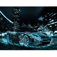 5D diamond painting cross stitch mosaics Full 100% cover embroidery Luxury car  stickers decoration