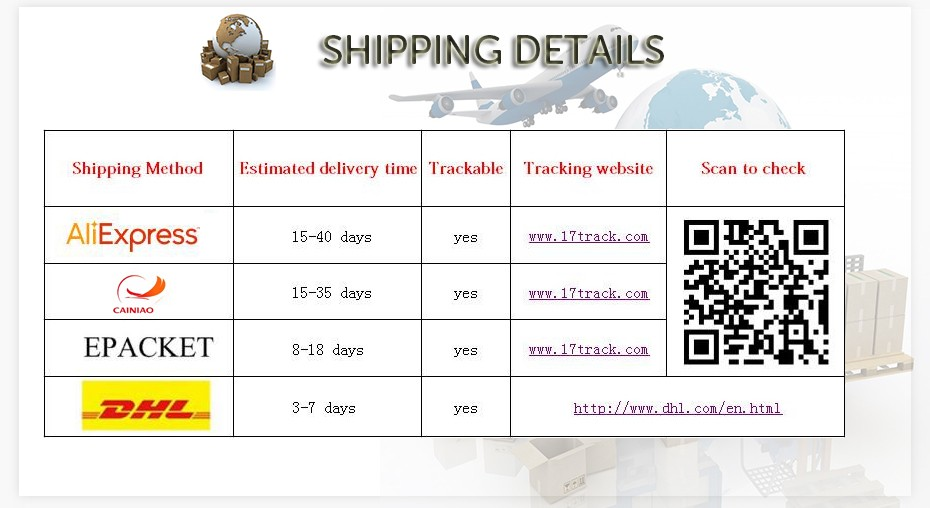 new shipping