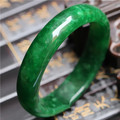 Wholesale High Quality Jade Bangles Pure Natural Full Green Jade Bracelet Jade Bangle