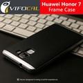 Мобильный Телефон Дело Чехол Гибридный ТПУ + PC Двойной Слой Рамка Задняя Крышка Защитные Аксессуары Для Huawei Honor 7