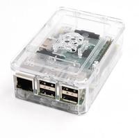 4 в 1 пи малины 3 комплект беспроводной доступ в Интернет и bluetoothal поленики Pi модель 3 б + радиаторы с питание + прозрачный абс пластик случае