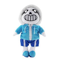 Hot 1pcs Undertale Sans Plush Toy 20-30cm Soft Stuffed Animals Doll Toys For Kids Birthday Christmas Gifts