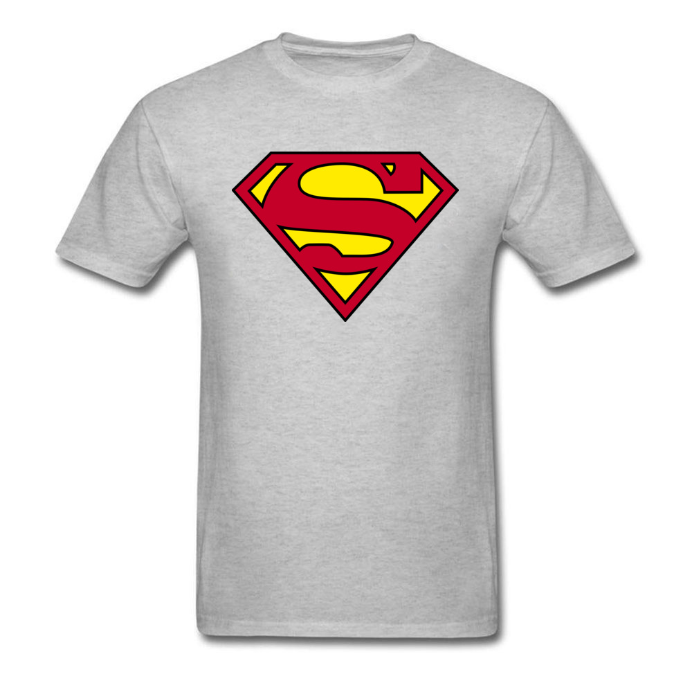 aba3610796b Here Comes Your Superman 2018 Mens Cool T Shirt Black Red Yellow Tops Hero  Logo Custom Men T shirt Funny Streetwear-in T-Shirts from Men s Clothing on  ...