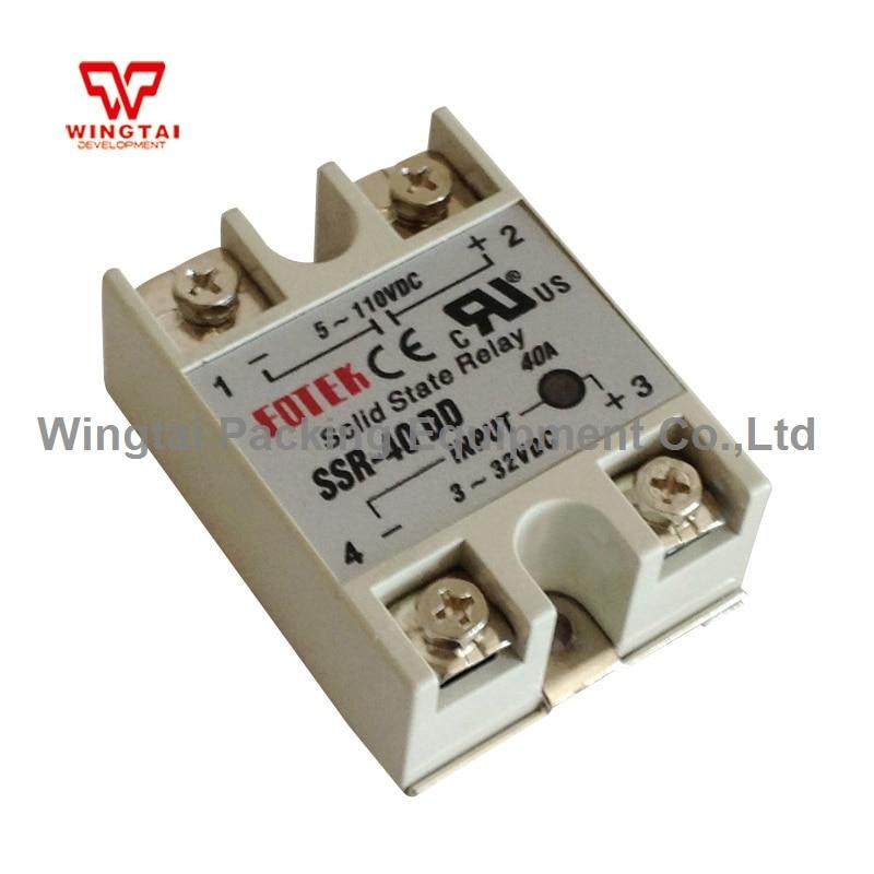 SSR-40DD High Level SSR Power Relay Fotek Module Solid State Relay цена