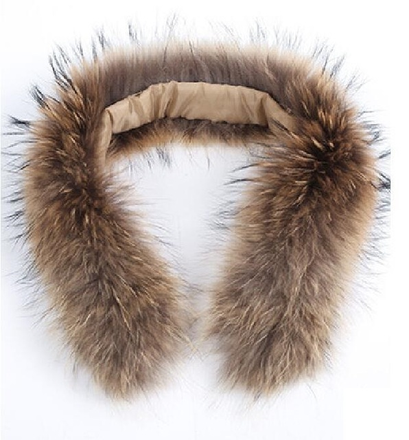 Natural Jacket Fur Collar...