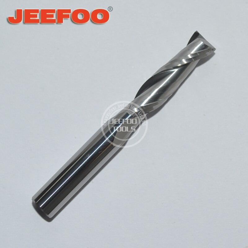 6 * 22 mm kaks CNC ruuteri bitti / lõiketera / lõikeotsakut / tahke karbiidist spiraalotsakud / graveerija jaoks