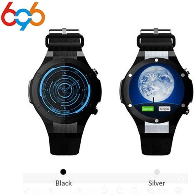 696 H2 Newest Bluetooth Smart Watch MTK6580 ROM RAM 16GB 1GB 5MP Camera Heart Rate Smartwatch GPS WIFI 3G Smart Wristwatch