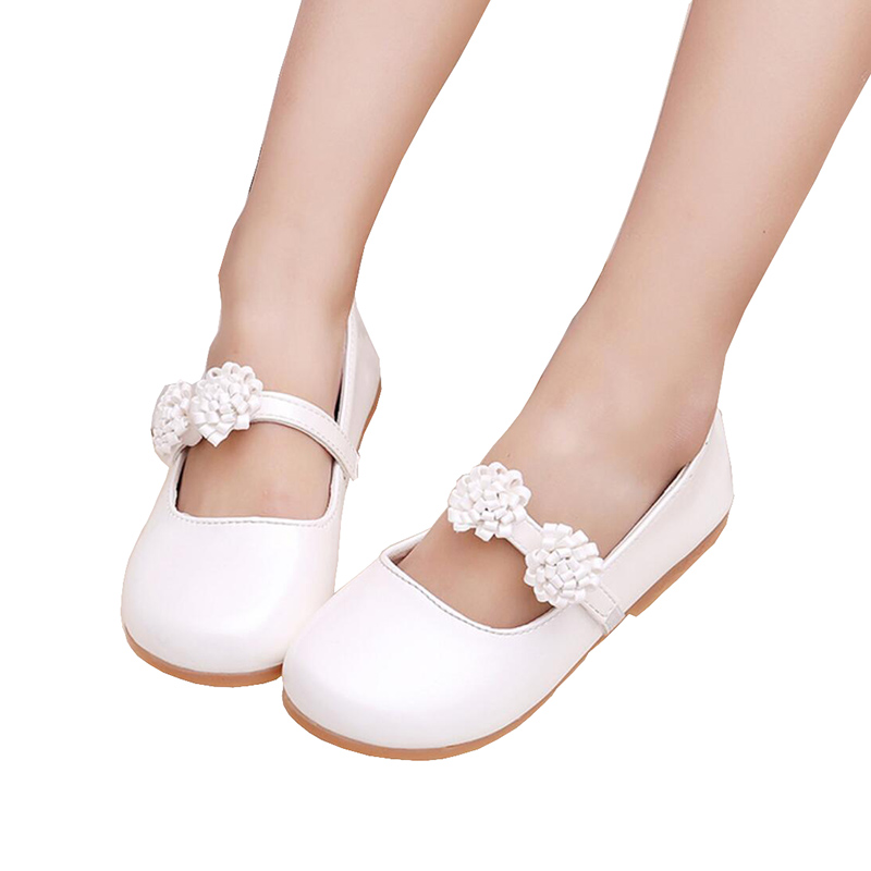 White Flower Children Little Girl Kids Leather Party And Wedding Princess  Shoes For Teens Girls Baby. sku  32895887776 8f3e8ea7b43b
