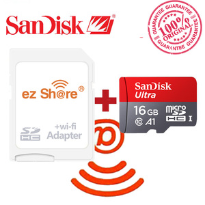 Image 4 - ezshare Wireless wifi adapter+Sandisk Ultra 8GB 16gb 32gb class10  microsd wifi wireless TF Card Micro SD Card Memory Card