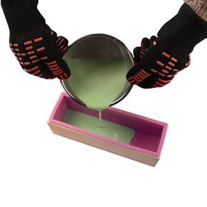 Image 4 - AsyPets 3PCS Rectangle Soap Mold Set DIY Toast Mold Silicon Pink Box + Wood Box Baking Tool (1.2KG Soap Volume) 30