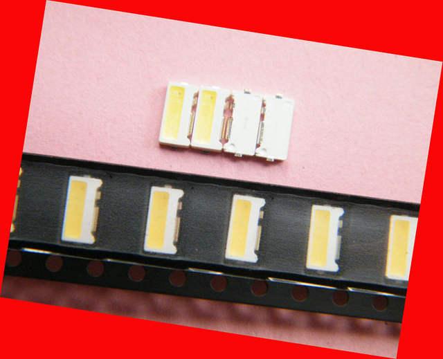 US $11 83 9% OFF|SMD LED lamp Beads LG 7032 3V 150MA 12000 15000K cool  White For LG TV backlight, Spotlights, Ceiling lamp bulb lamp -in Screens  from