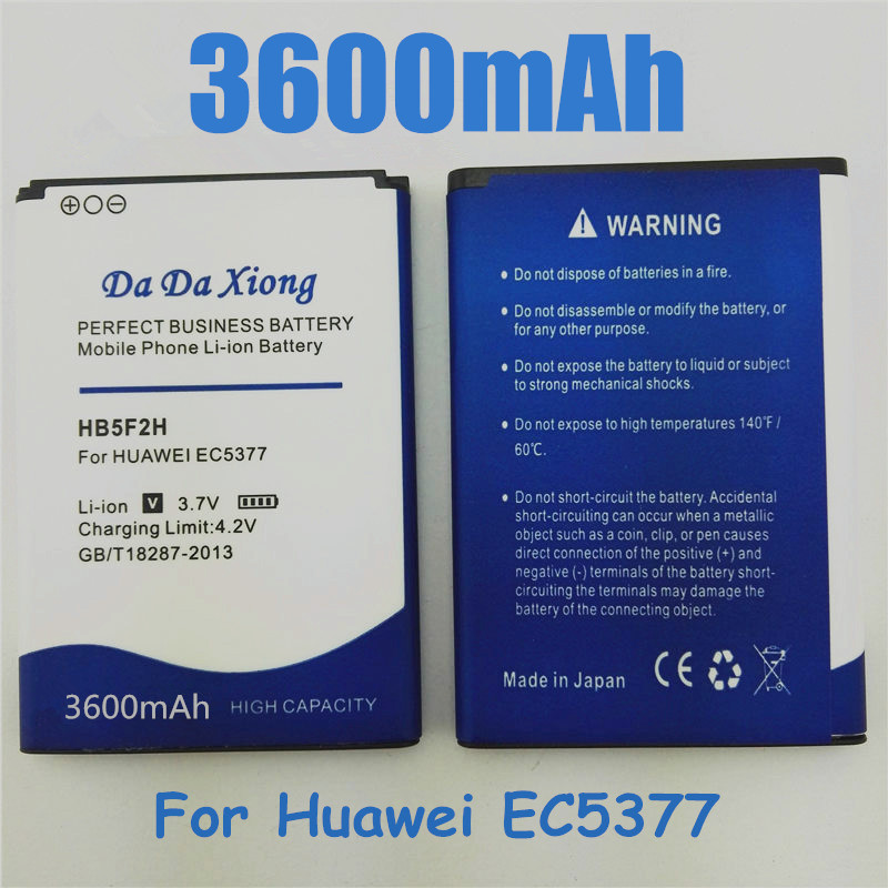 Cellphones & Telecommunications High Quality Bateria Hb5f2h Battery For Huawei E5336 E5375 Ec5377 E5373 E5330 4g Lte Wifi Router Battery 5f2h