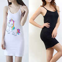 Medium length halter top bottom dress for women sexy slim High elastic underskirt wrap buttock Free Size Black/White