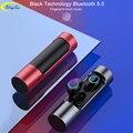 X8 сенсорный контроль TWS Bluetooth 5 0 наушники мини беспроводные наушники стерео наушники водонепроницаемая Спортивная гарнитура с микрофоном