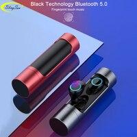 X8 controle de toque tws bluetooth 5.0 mini fones de ouvido sem fio fones estéreo waterprood esportes fone com microfone