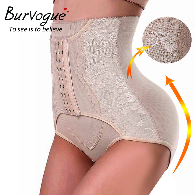402e820901d0c Burvogue Women High Waist Trainer Body Shaper Panties Butt Push Up Seamless  Tummy Control Slimming Shapers Shapewear Underwear -in Control Panties from  ...