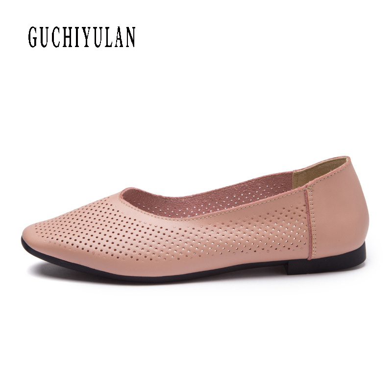 hot Fashion women shoes spring 2018 Genuine Leather sneakers ladies flat new women's casual shoes Moccasins Driving loafers hot sale 2018 new fashion lightweight breathable shoes leather flat women shoes comfortable classic style casual sneakers