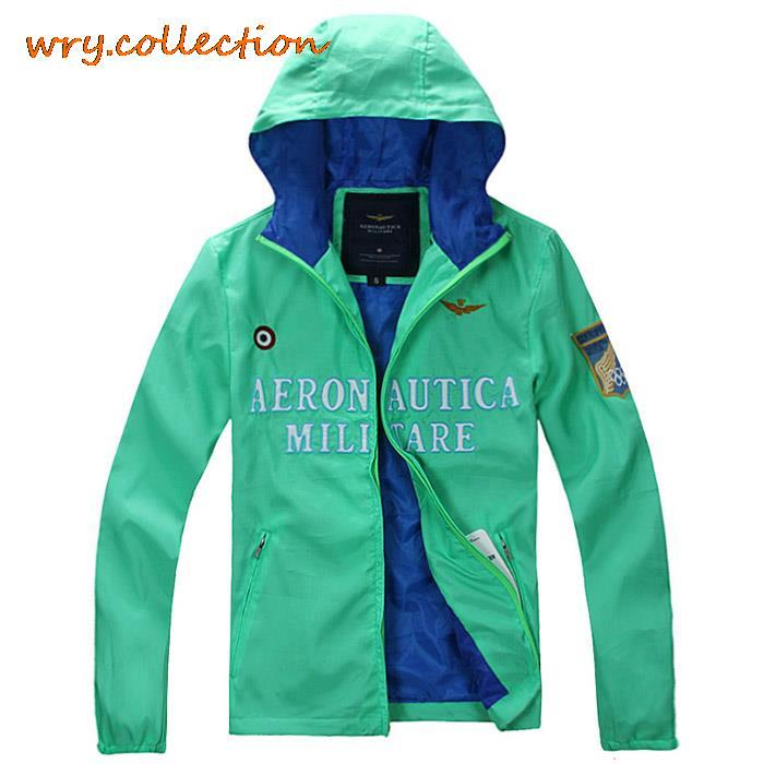 AERONAUTICA MILITARE windbreaker,trench coat men,AM jackets, noble clothing winter jacket with pocket 11 colors Free Shipping