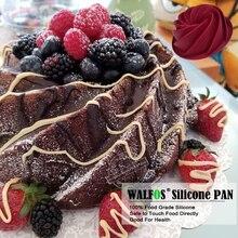 Big Swirl Shape Silicone Cake Mold 25*9cm