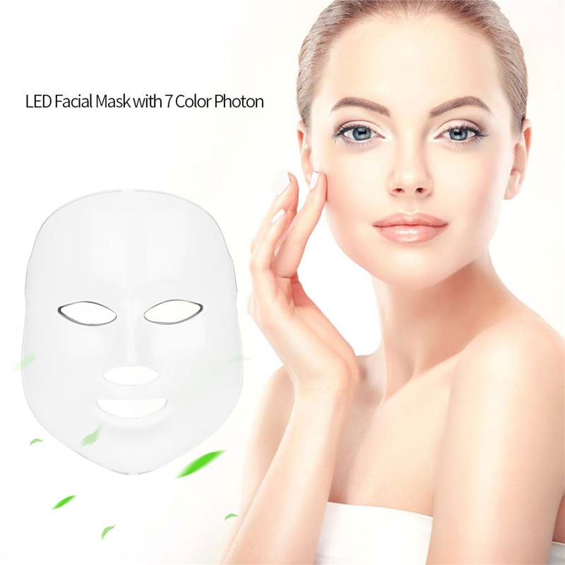 Led Therapy Mask Light Face Mask Therapy Photon Led Facial Mask Skin Care Mask Therapy Whitening Rejuvenation Instrument Beauty