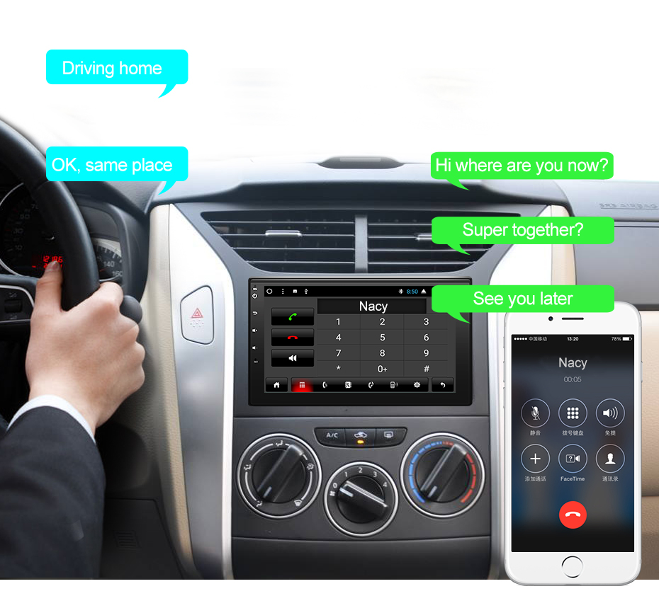 US $263 93  AWESAFE 2 Din Android 7 1 1 Car DVD Player Radio GPS Navi for  vw/ford focus/toyota/nissan autoradio Audio Stereo-in Car Multimedia Player