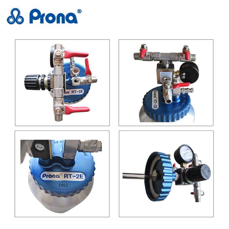Pneumatyczny zbiornik ciśnieniowy Prona RT-2E, pojemność 2 litry, - Elektronarzędzia - Zdjęcie 5
