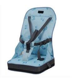 4 ألوان الموضة المحمولة الداعم مقاعد سلامة الطفل كرسي مقعد/المحمولة السفر عالية كرسي مقعد العشاء