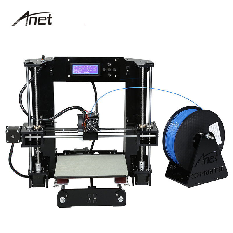 Anet A6 Impresora 3D Printer Auto Leveling A6-L Big Size Printers Reprap i3 imprimante 3d DIY Kit With Filament Gift SD Card недорго, оригинальная цена
