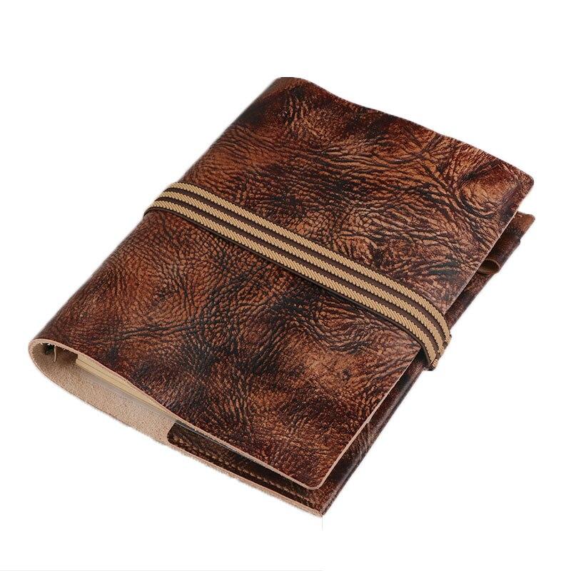 Carnet de voyage Journal de voyage Journal à la main multifonctionnel A5 bloc-notes mémos planificateurs cadeaux Design créatif poche BJB53