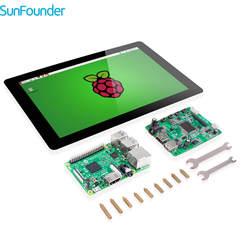 SunFounder 10,1 ips ЖК дисплей видно дисплей Мониторы HDMI 1280*800 с Raspberry Pi 3 и TF карты для Raspberry Pi 3 2 Модель B RPi 1 B +