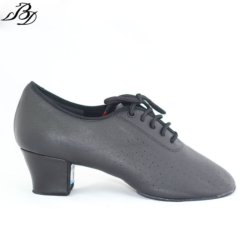 Dancesport Shoe BD Dance T1b Women Ballroom Dance Shoes Ladies Teaching Latin Dance Standard Dance Split Sole Soft leather