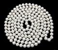La venta del nuevo estilo >> >> > 48 '' largo blanco Natural 8 mm verdadero mar del sur Shell perlas cuentas de collar de la joyería