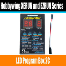 Hobbywing RC Car Program Card LED Program Box 2C 86020010 Programm Card For XERUN and EZRUN Series Car Brushless ESC(China)