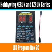 Hobbywing RC Auto Programm karte LED Program Box 2C 86020010 Programm Karte Für XERUN und EZRUN Serie Auto Brushless REGLER|Teile & Zubehör|Spielzeug und Hobbys -