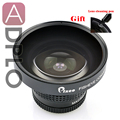 Pixco 37mm 0.25X Super Fisheye Wide Angle Lens Suit For Canon Camera Lens with cleaning Pen