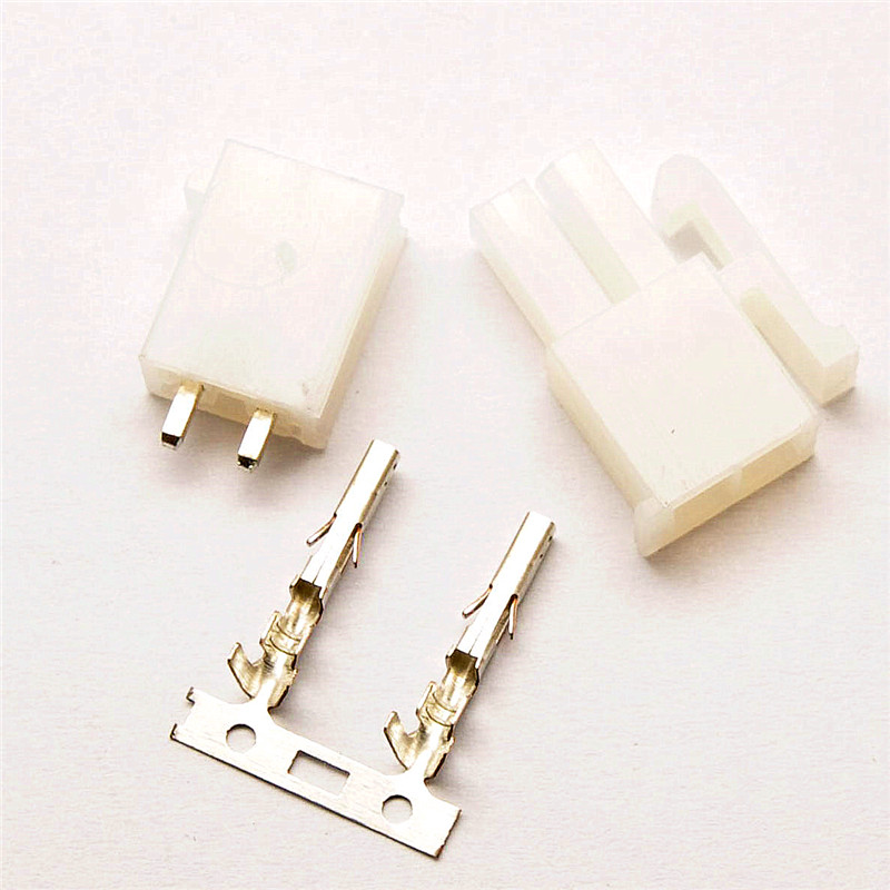 2Pin Automotive 4.2 Connector <font><b>5557</b></font> 5569 Connector <font><b>4.2MM</b></font> Set Plug Terminal white image