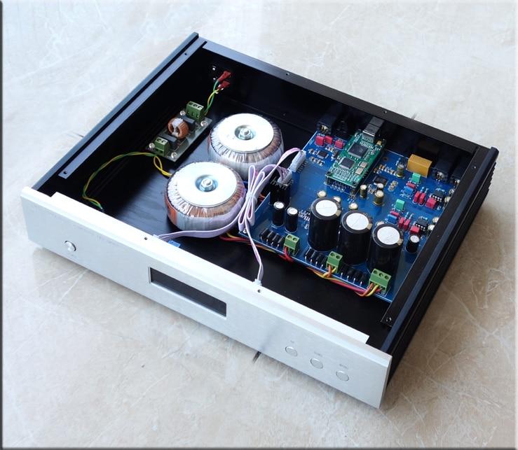 R-043 QUEENWAY AUDIO DC100 decoder AK4497 DAC chip Dual AK4497 supports DSD256/PCM384K Amanero USB Card триммер для носа и ушей maxwell mw 2801