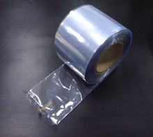 Free shipping,Width 5-120 cm(2''-47.2'') PVC Shrink Sleeve,Shrink Wrap In Roll,PVC 25 microns in Roll(China)