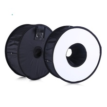 45cm Foldable Ring Speedlite Flash Diffuser Round Softbox